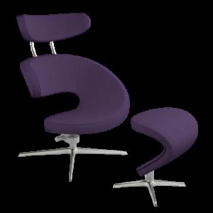 Variér-Peel-I-fauteuil-voetenbank - Gaertner