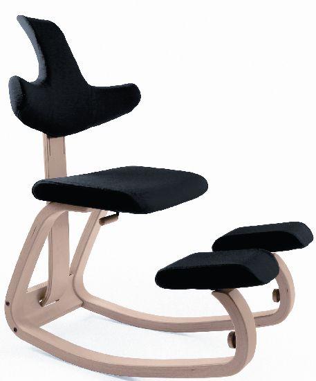 """Balans werkstoel Variér """"Thatsit"""" met rug (was Stokke)"""