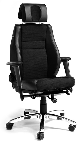 24-uurs werkstoel BMA Secur24 Exclusive